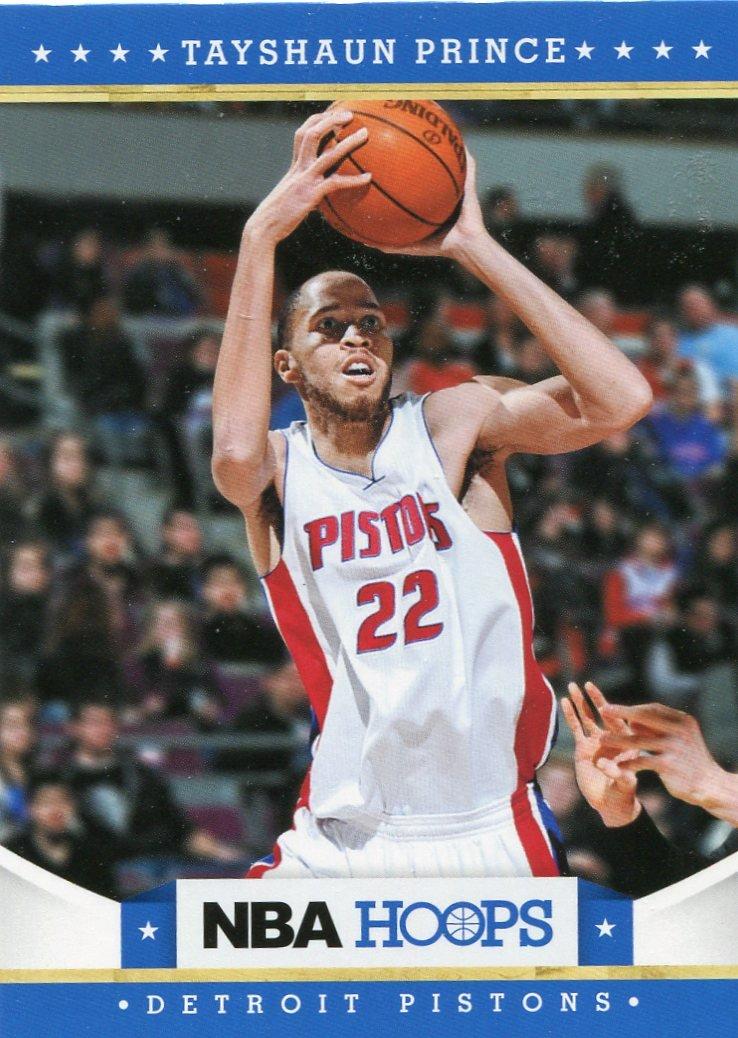 2012 Hoops Basketball Card #90 Tayshaun Prince