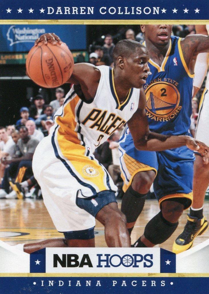 2012 Hoops Basketball Card #97 Darren Collison