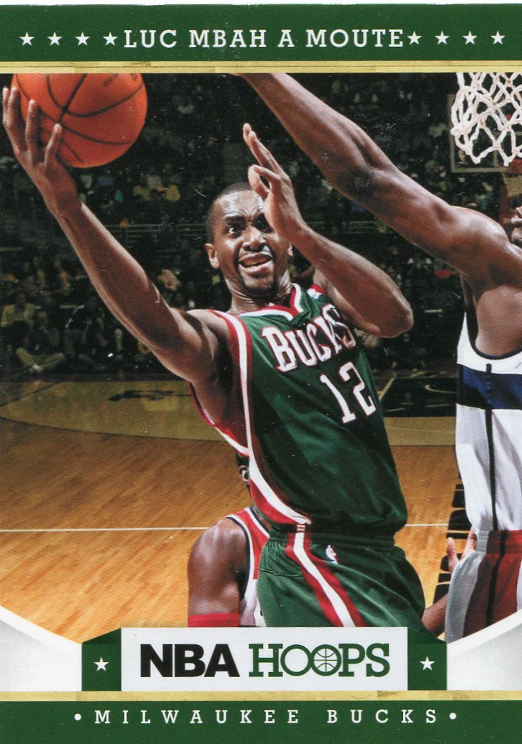 2012 Hoops Basketball Card #106 Luc Mbah A Moute