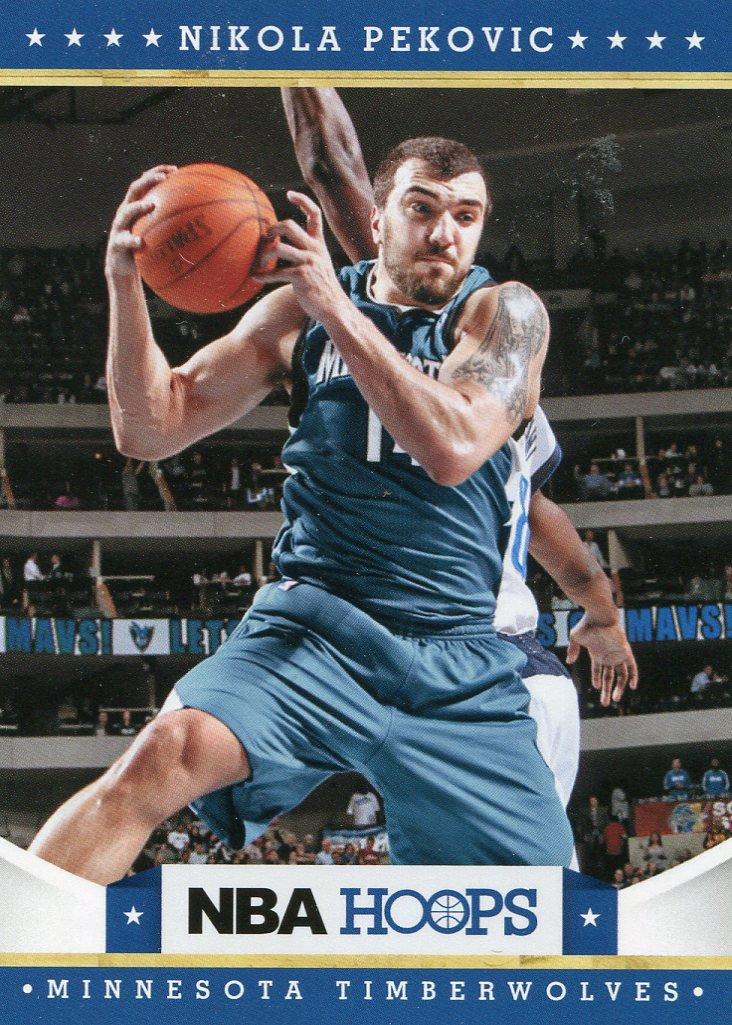 2012 Hoops Basketball Card #119 Nikola Pekovic