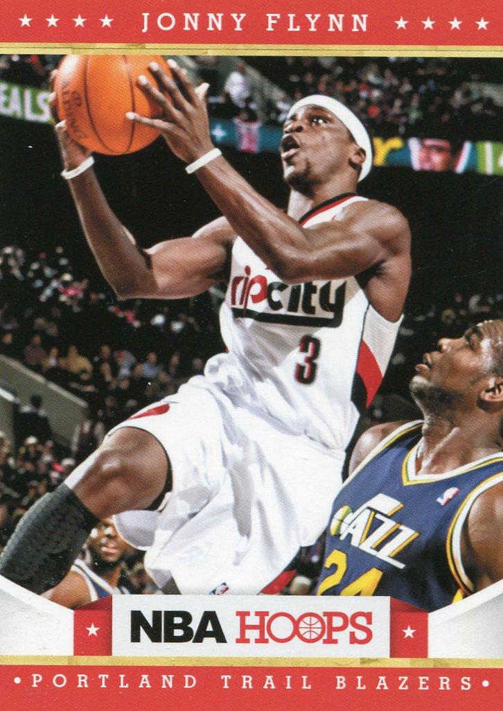 2012 Hoops Basketball Card #127 Jonny Flynn