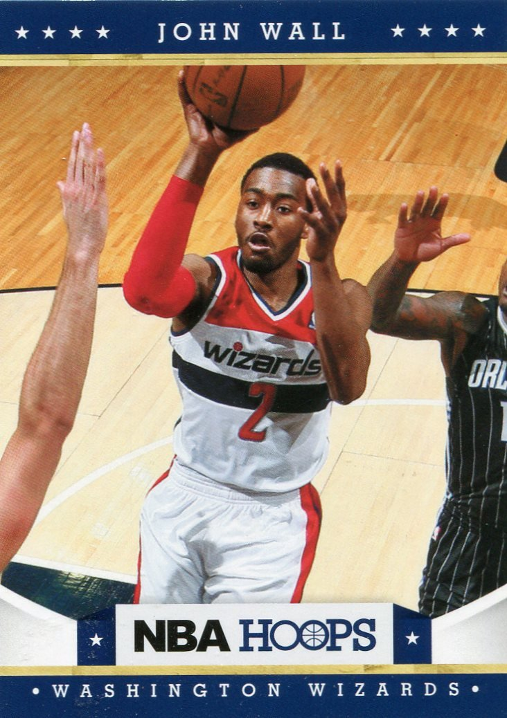 2012 Hoops Basketball Card #172 John Wall
