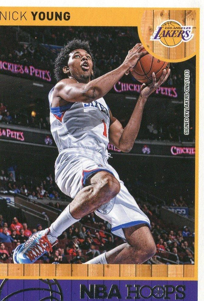 2013 Hoops Basketball Card #188 Nick Young