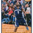 2013 Hoops Basketball Card #191 Tony Allen