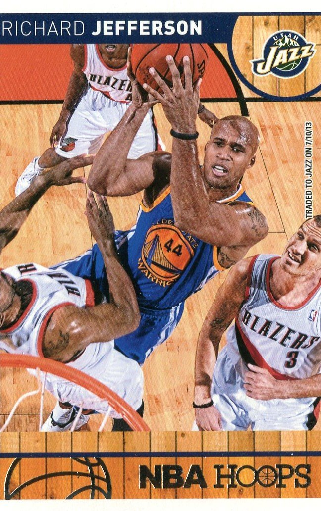 2013 Hoops Basketball Card #192 Richard Jefferson