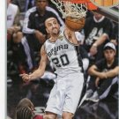2013 Hoops Basketball Card #195 Manu Ginoblli