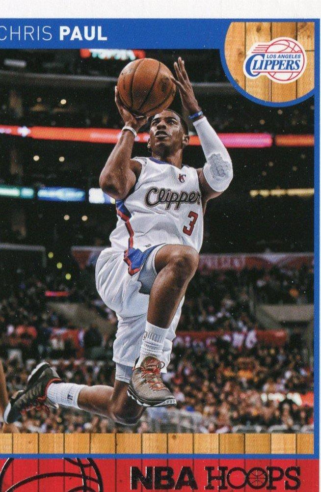 2013 Hoops Basketball Card #185 Chris Paul