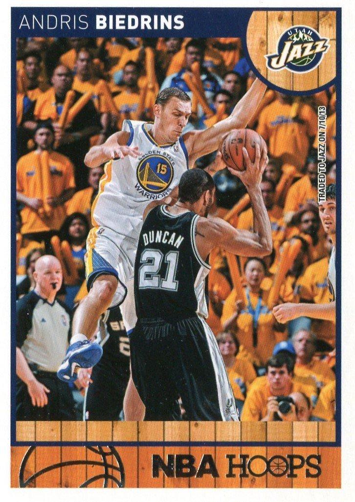 2013 Hoops Basketball Card #212 Andris Biedrins