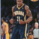 2013 Hoops Basketball Card #213 David West