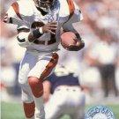 1991 Pro Set Platinum Football Card #15 James Brooks