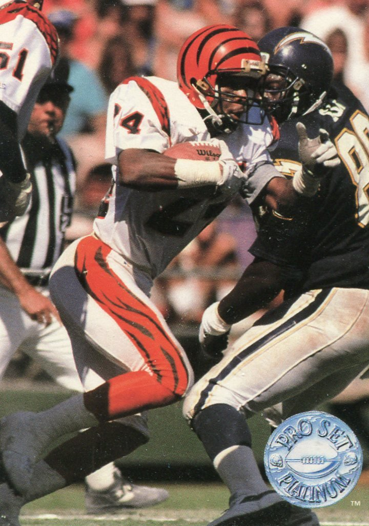 1991 Pro Set Platinum Football Card #19 Lewis Billups