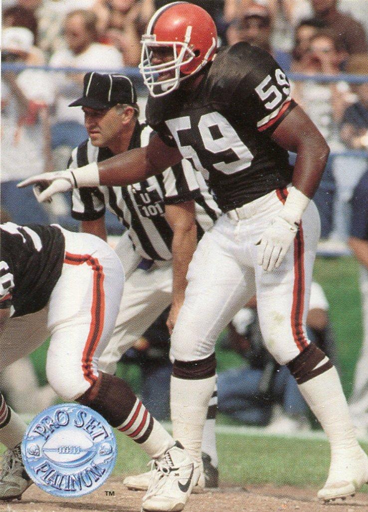 1991 Pro Set Platinum Football Card #23 Mike Johnson