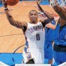 2012 Hoops Basketball Card #136 Russell Westbrook