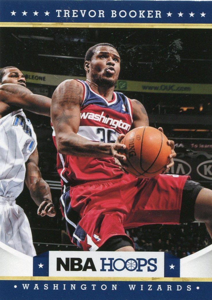 2012 Hoops Basketball Card #173 Trevor Booker