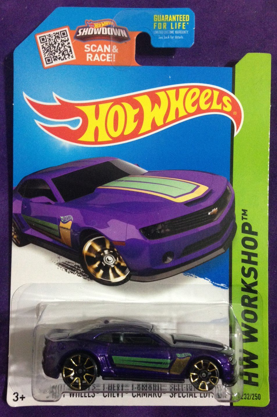 2015 Hot Wheels #232 13 Hot Wheels Chevy Camaro Special Edition