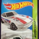 2015 Hot Wheels #243 Datsun 240Z WHITE