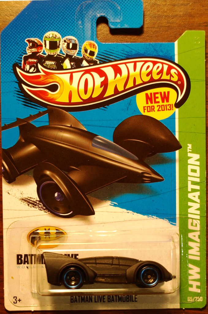 2013 Hot Wheels #65 Batman Live Batmobile