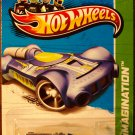 2013 Hot Wheels #56 Retro-Active BLUE
