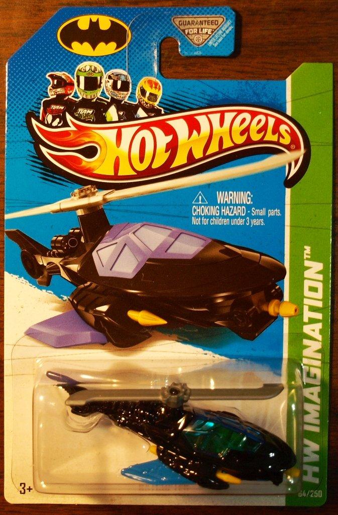2013 Hot Wheels #64 Batcopter