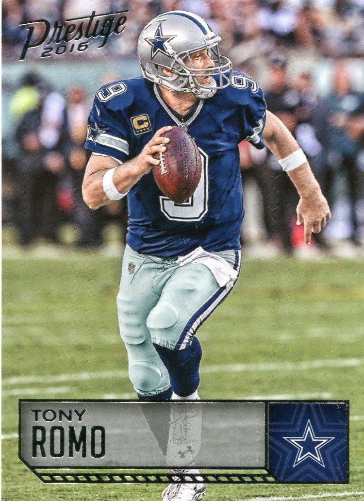 2016 Prestige Football Card #51 Tony Romo