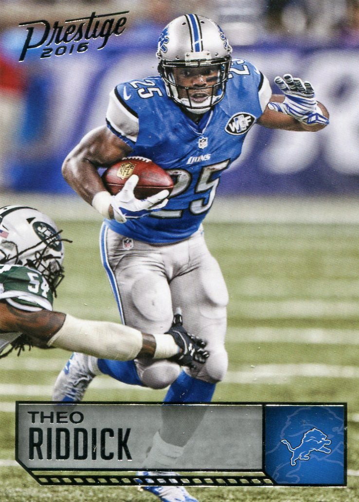 2016 Prestige Football Card #68 Theo Riddick