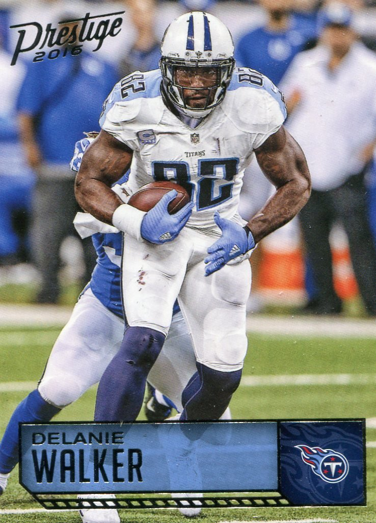 2016 Prestige Football Card #191 Delanie Walker