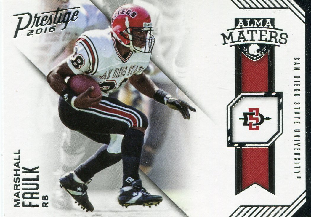 2016 Prestige Football Card Alma Maters #12 Marshall Faulk