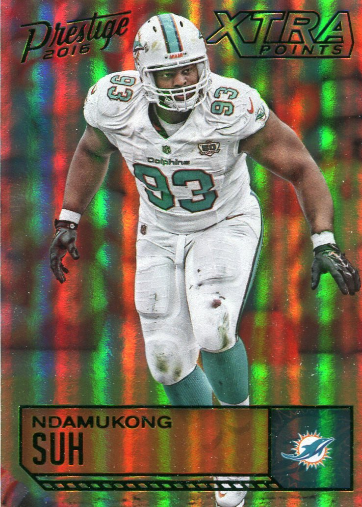 2016 Prestige Football Card Xtra Points #109 Ndamukong Suh