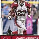 2016 Score Football Card #2 Chris Johnson