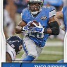 2016 Score Football Card #112 Theo Riddick