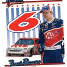 2008 Wheels American Thunder Racing Card #62 David Ragan