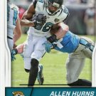 2016 Score Football Card #152 Allen Hurns