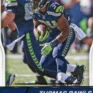 2016 Score Football Card #283 Thomas Rawls