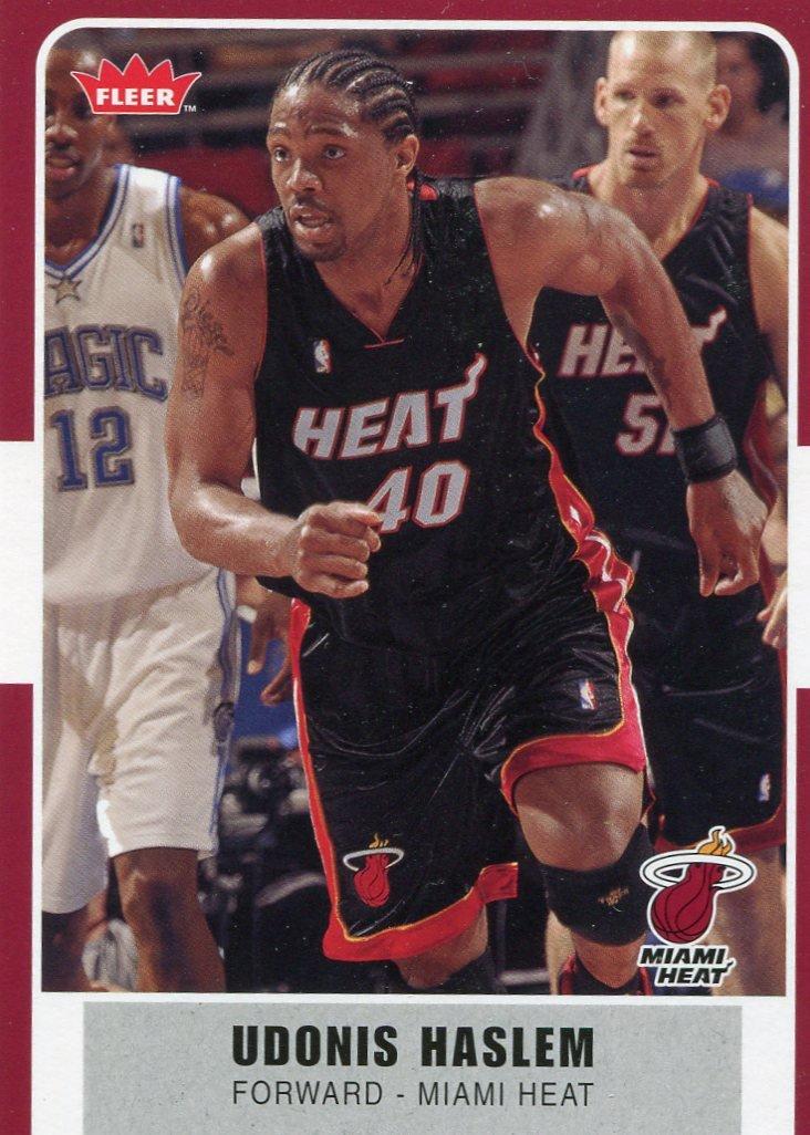 2007 Fleer Basketball Card #27 Udonis Haslem