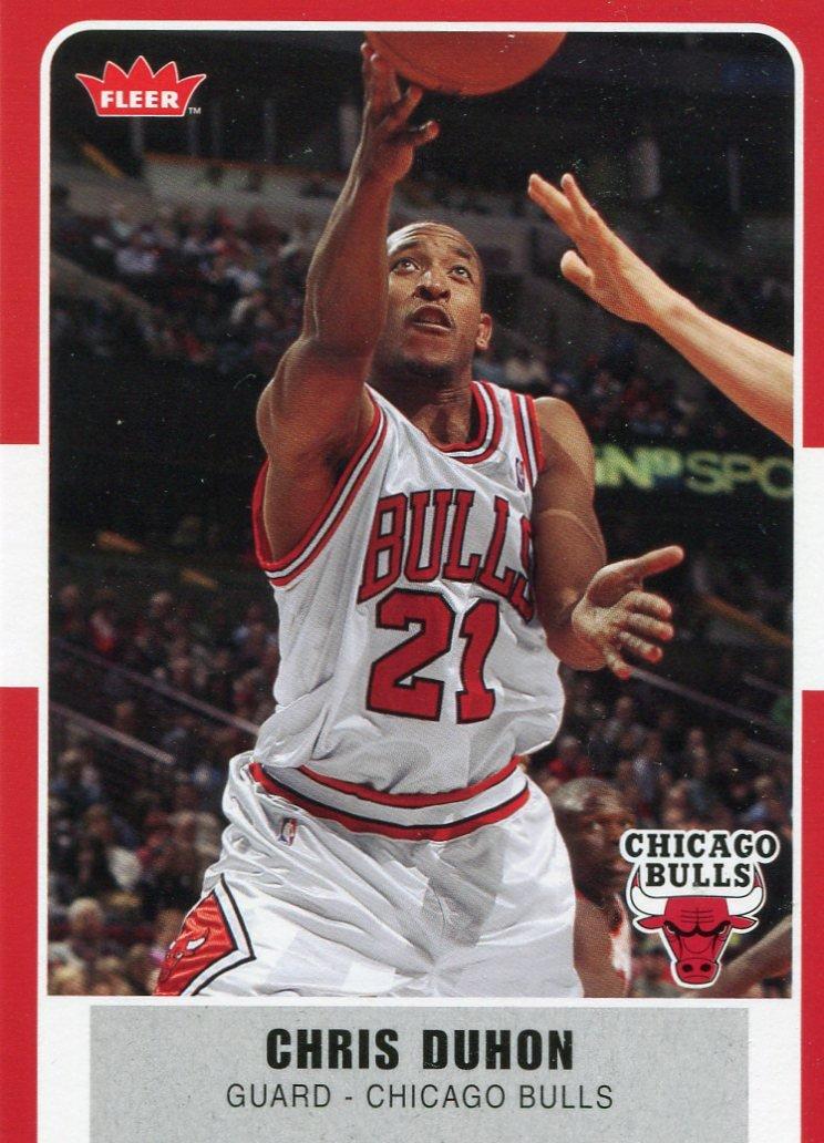 2007 Fleer Basketball Card #34 Chris Duhon
