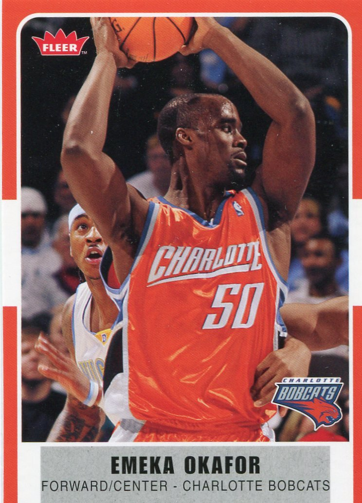 2007 Fleer Basketball Card #70 Emeka Okafor