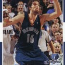 2007 Fleer Basketball Card #100 Pau Gasol