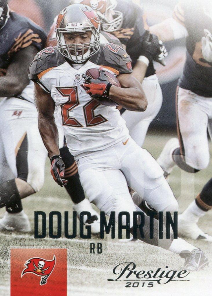 2015 Prestige Football Card #152 Doug Martin