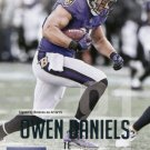 2015 Prestige Football Card #161 Owen Daniels