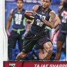 2016 Score Football Card #375 Tajae Sharpe
