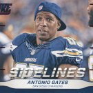 2016 Score Football Card Sidelines #17 Antonio Gates