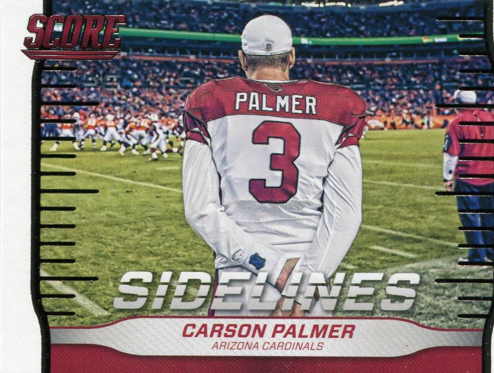 2016 Score Football Card Sidelines #20 Carson Palmer