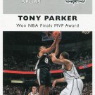 2007 Fleer Basketball Card 1961/62 #61 Tony Parker