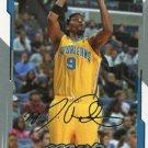 2008 Upper Deck MVP Basketball Card Silver Script #104 Morris Peterson
