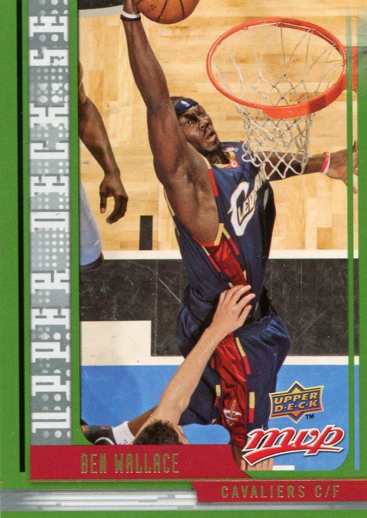 2008 Upper Deck MVP Basketball Card SE #9 Ben Wallace