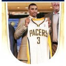 2011 Hoops Basketball Card #82 George Hill