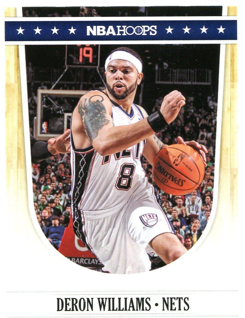 2011 Hoops Basketball Card #151 Deron Williams
