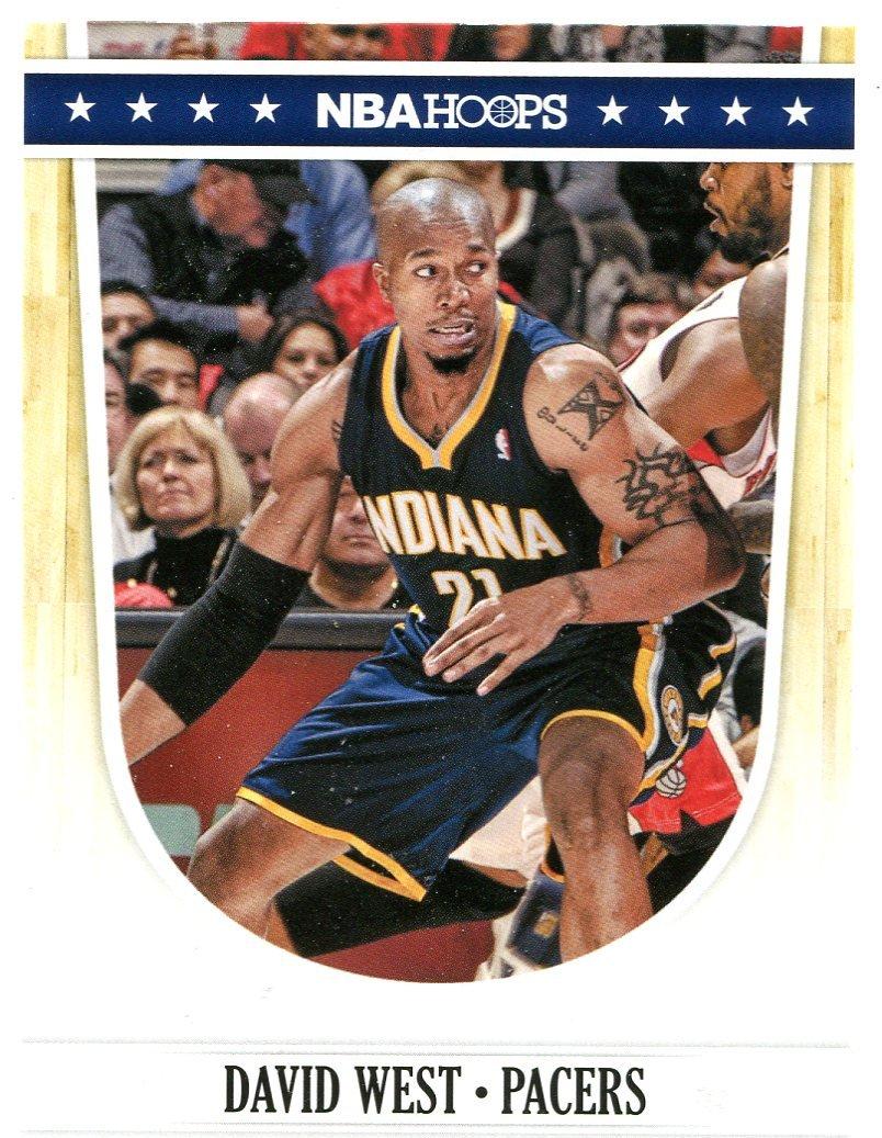 2011 Hoops Basketball Card #154 David West