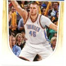2011 Hoops Basketball Card #168 Cole Aldrich