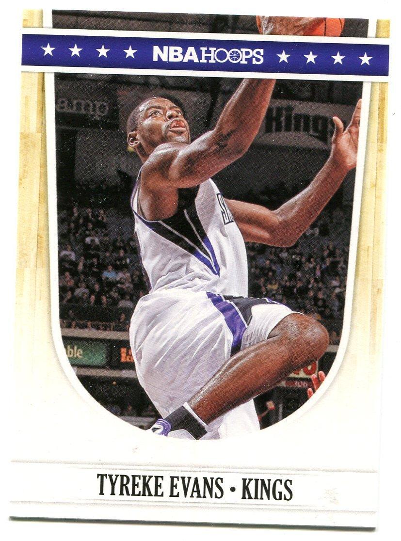 2011 Hoops Basketball Card #208 Tyreke Evans